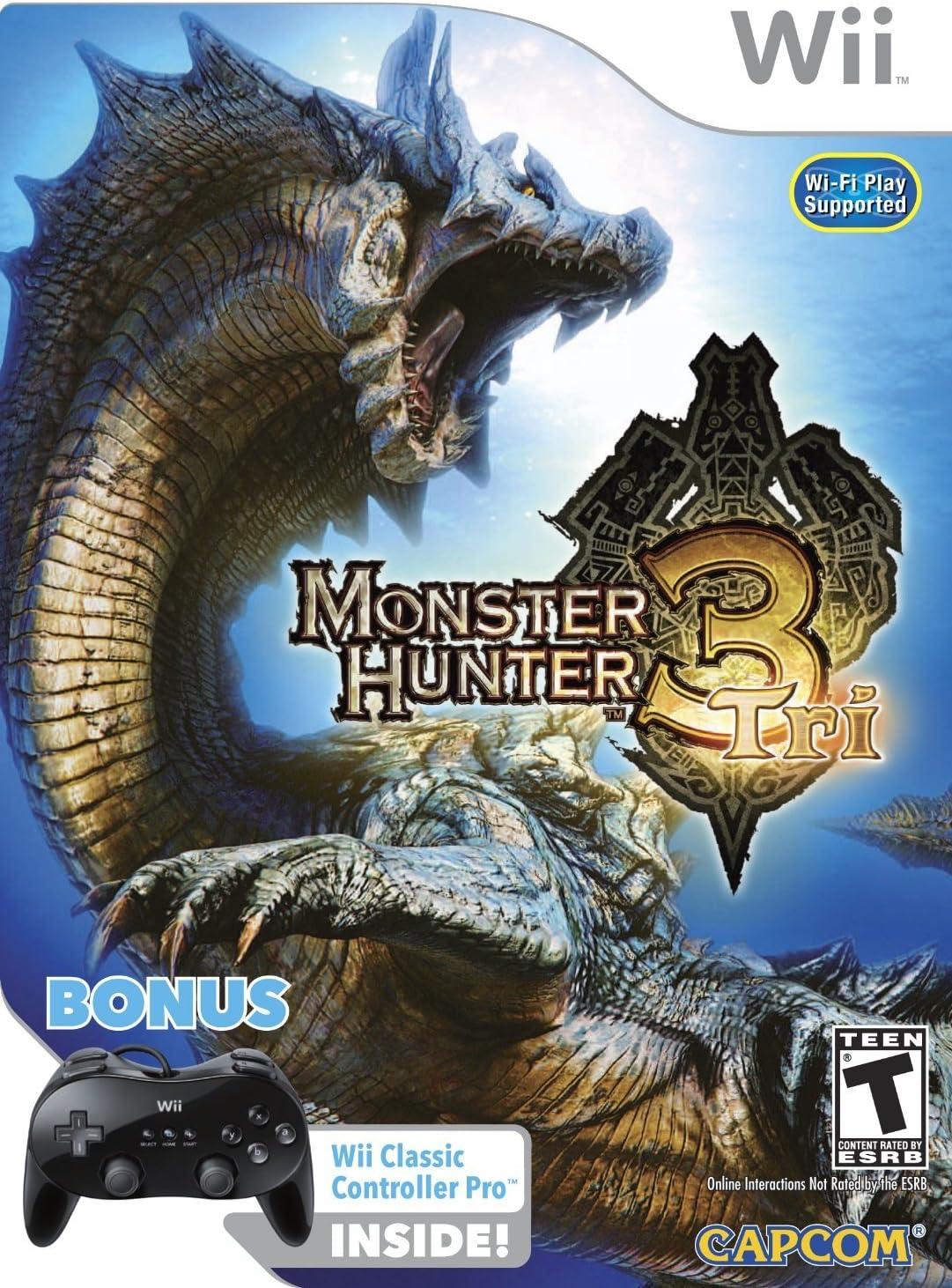 Capcom Monster Hunter Tri - Juego (Gamepad): Amazon.es: Videojuegos