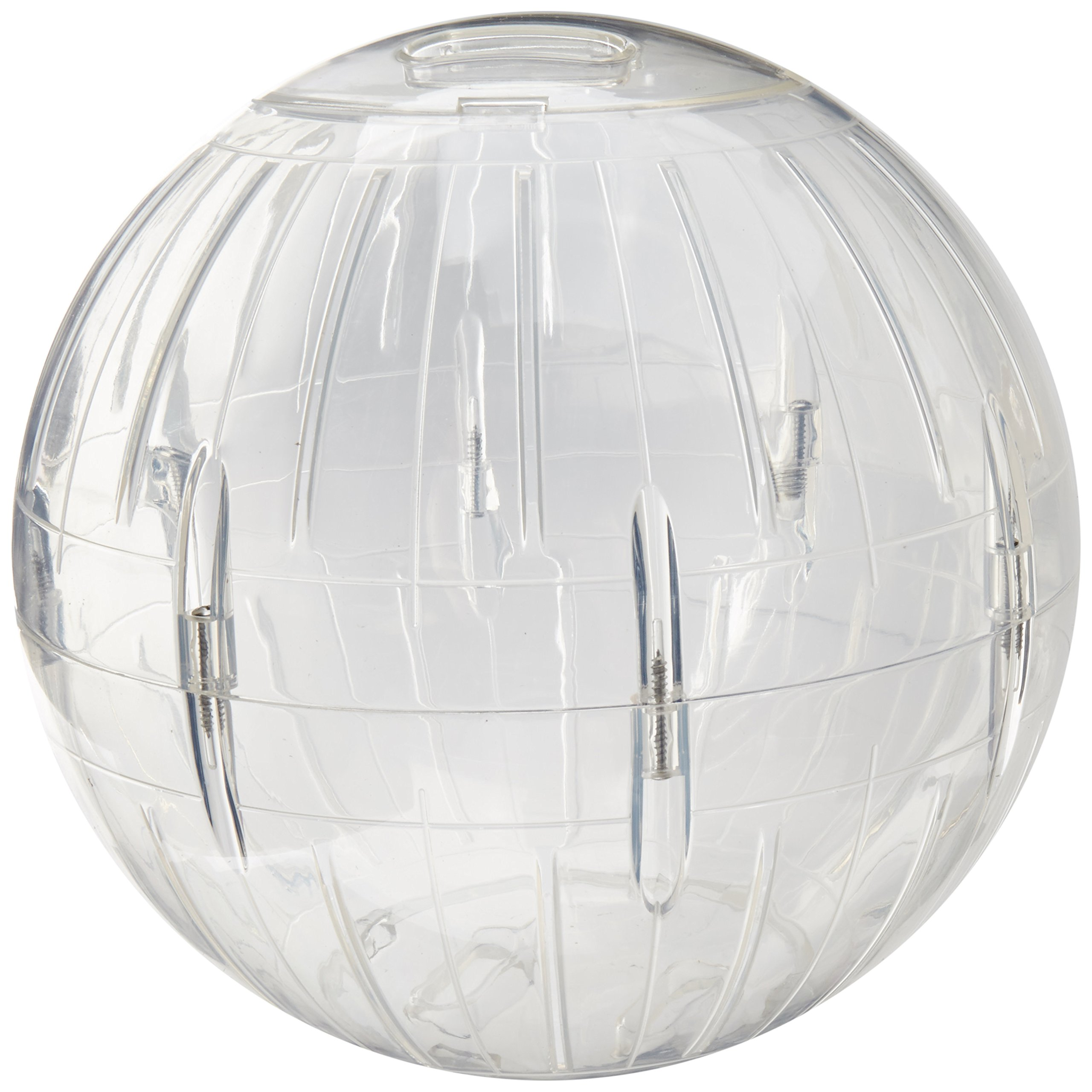 Lee's Kritter Krawler Jumbo Exercise Ball, 10-Inch, Clear