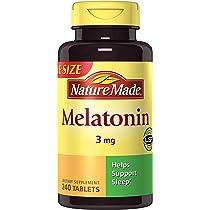 ... Nature Made Melatonin 3 mg Tablets Value Size 240 Ct ...