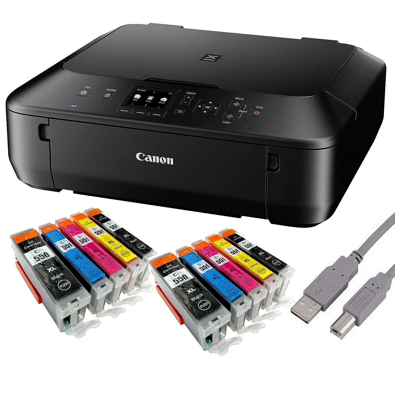 Canon Pixma MG5550 Tintenstrahl-Multifunktionsgerät: Amazon.de ...