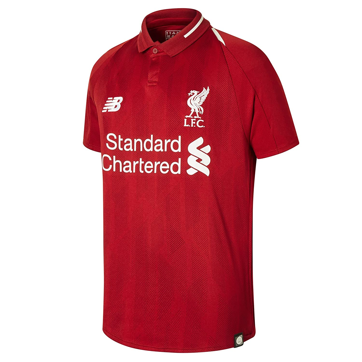 New Balance 2018-2019 Liverpool Home Football Shirt (Kids)