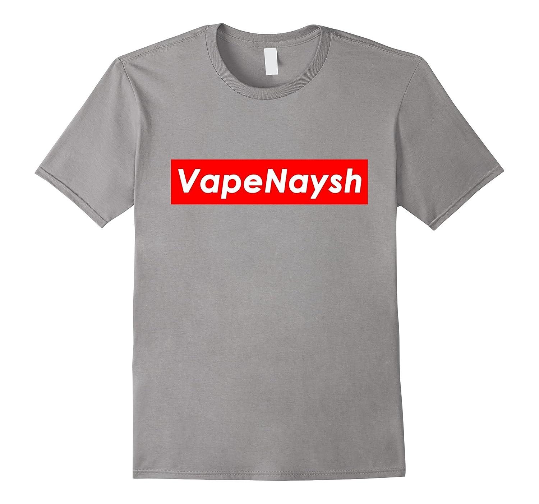 Vape Nation VAPE NAYSH Red Box White Text Shirt-TH