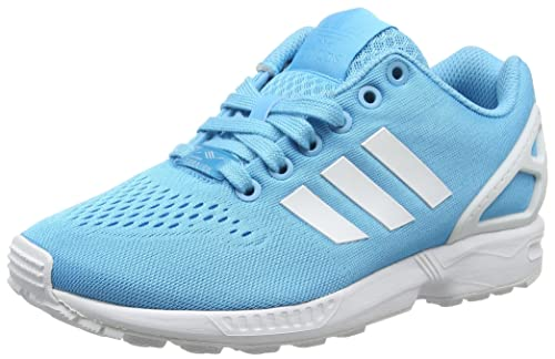 new product 2c279 dced8 adidas Zx Flux Em, Unisex Adults  Competition Running Shoes, Blue (Bright  Cyan