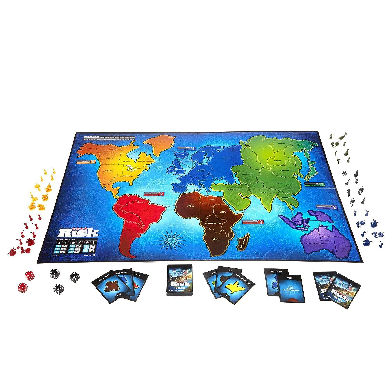 amazon com hasbro 28720 risk game toys games