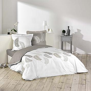 Douceur D Intérieur Bettwäsche Bettbezug Baumwolle Mehrfarbig 220 X 240 Cm