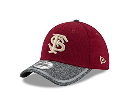 00bcd684183 New Era NCAA Florida State Seminoles Adult NE16 Training 39THIRTY Stretch  Fit Cap