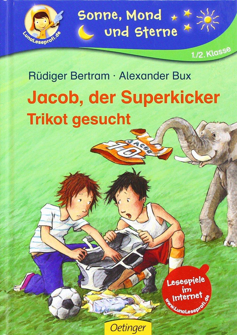 Jacob, der Superkicker. Trikot gesucht