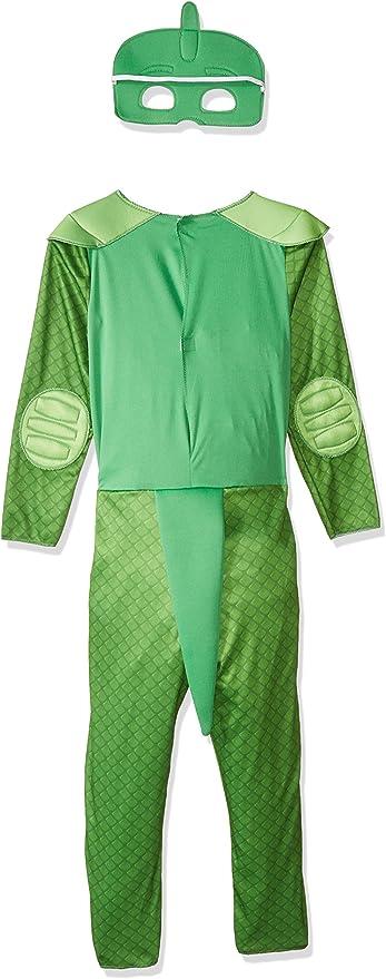 PJ Masks Disfraces, color verde, 4-6 años (Bandai 24603): Amazon ...