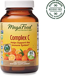 MegaFood, Complex C, Supports a Healthy Immune System, Antioxidant Vitamin C Supplement, Gluten Free, Vegan, 60 Tablets (60 Servings) (FFP)