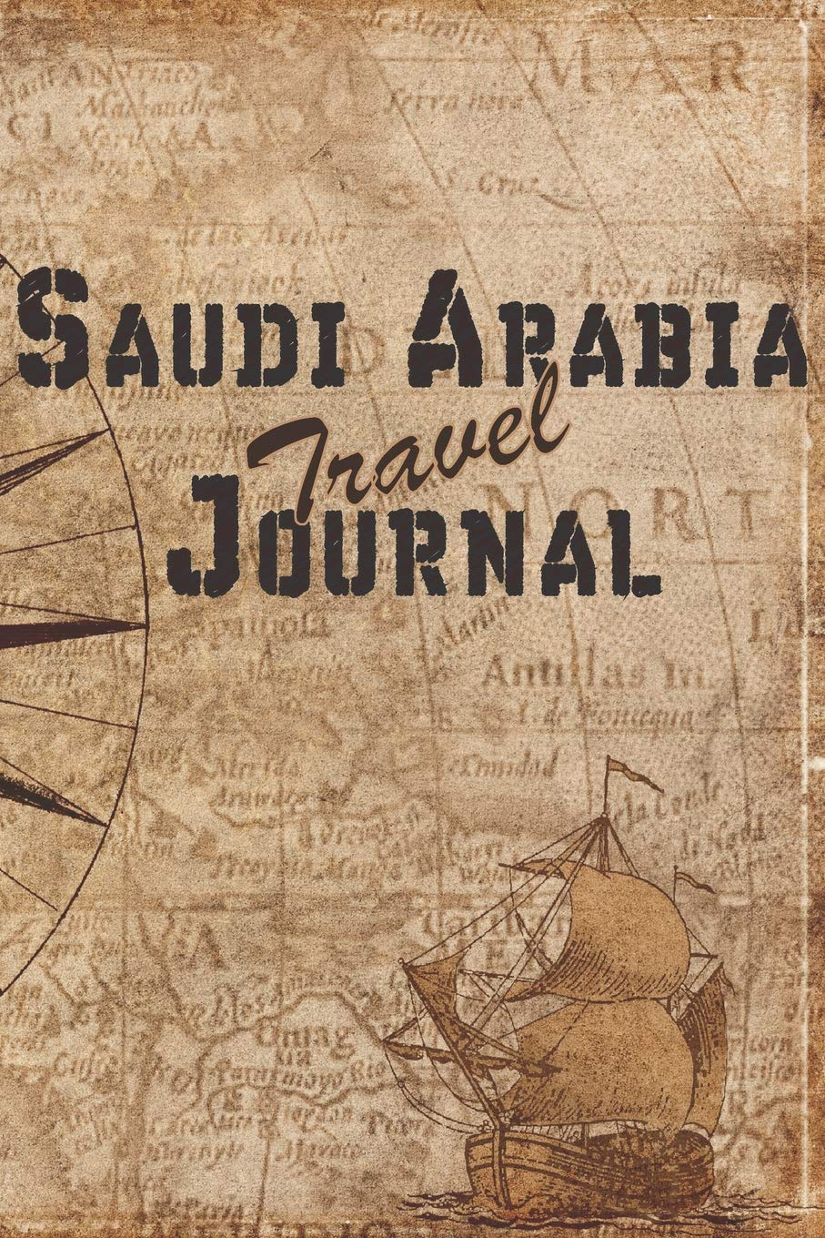 Saudi Arabia Travel Journal: 6x9 Travel Notebook with