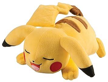 Pokémon, Pikachu de Peluche con Pose durmiendo