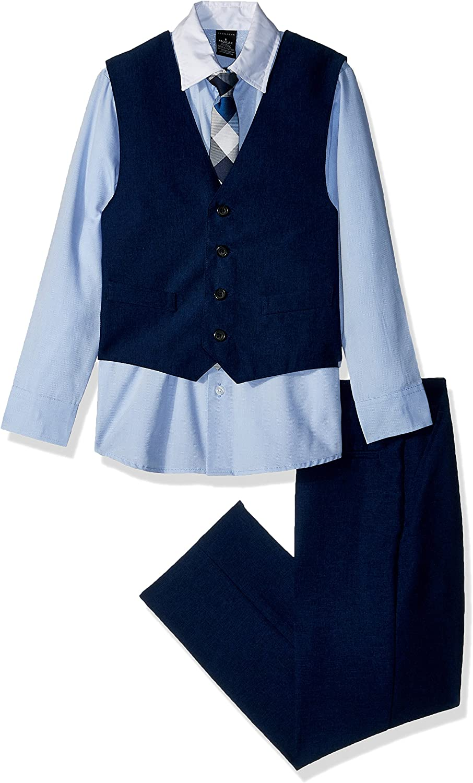 Sean John Boys 4-Piece Dresswear Vest Set
