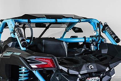 SAUTVS Heavy Duty Back Window Shield Rear Panel for Can Am Maverick X3 Models 2017-2020 X3 Rear Windshield Kit