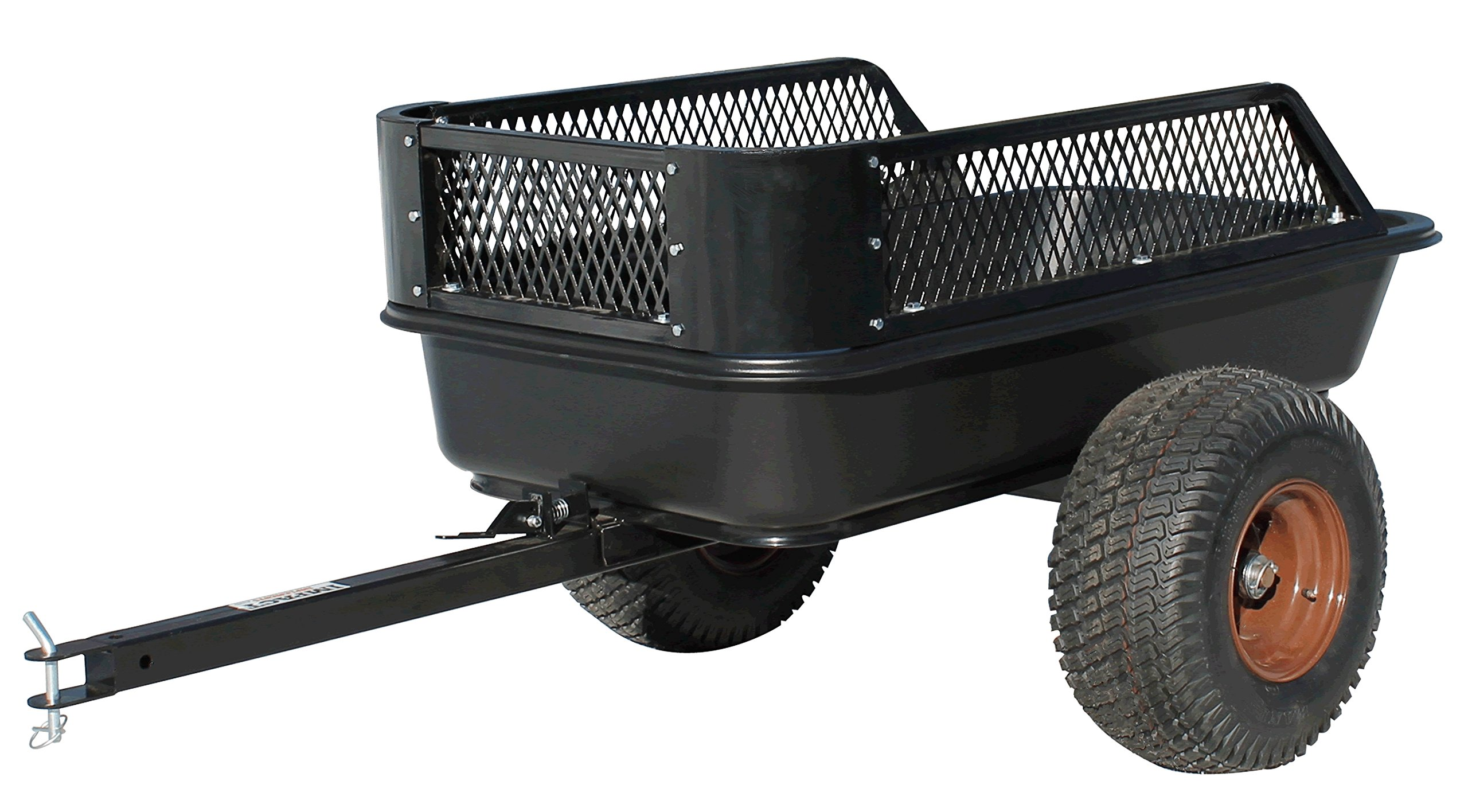 Impact Implements ATV Heavy Duty Utility Cart and Cargo Trailer- 1500lb Capacity; 15 cu. ft.