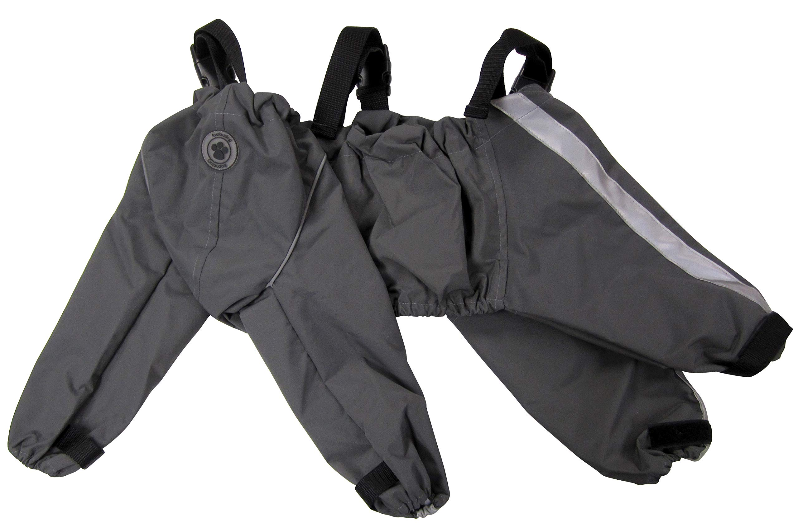 FouFou Dog 62561 Bodyguard Protective All-Weather Dog Pants, X-Large, Gray by FouFou Dog