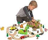 KidKraft Dinosaur Bucket Top Train Set  sc 1 st  Amazon.com & Amazon.com: KidKraft Dinosaur Train Table Model Building Kit: Toys ...