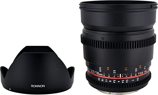 Rokinon Cv16m Mft 16mm T2 2 Cine Wide Angle Lens For Kamera
