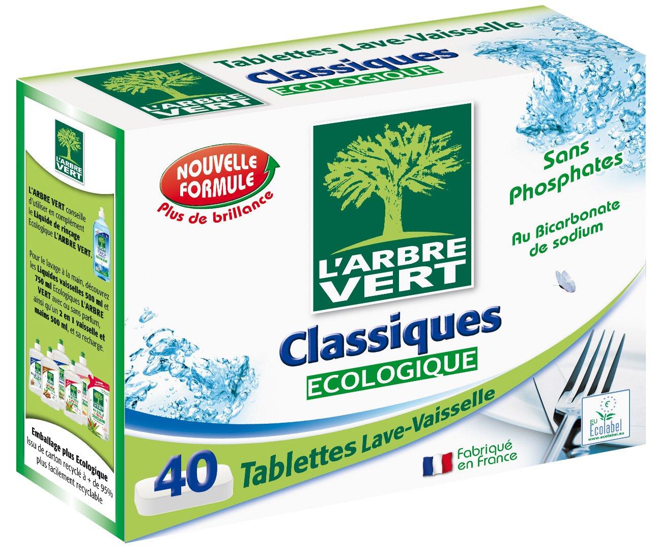 El árbol verde Classic – Pastillas para lavavajillas – 40 ...