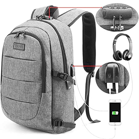 Travel Laptop Backpack Water Resistant