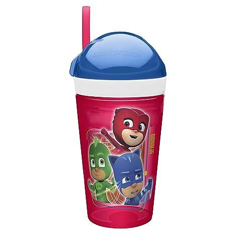 06acd42dcf Zak Designs Disney Junior Holds 4 oz. Snack and 10 oz. Drink, Catboy,  Owlette & Gekko: Amazon.ca: Home & Kitchen