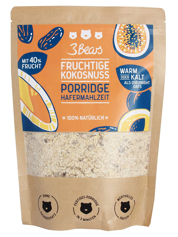 3Bears Fruchtige Kokosnuss Porridge