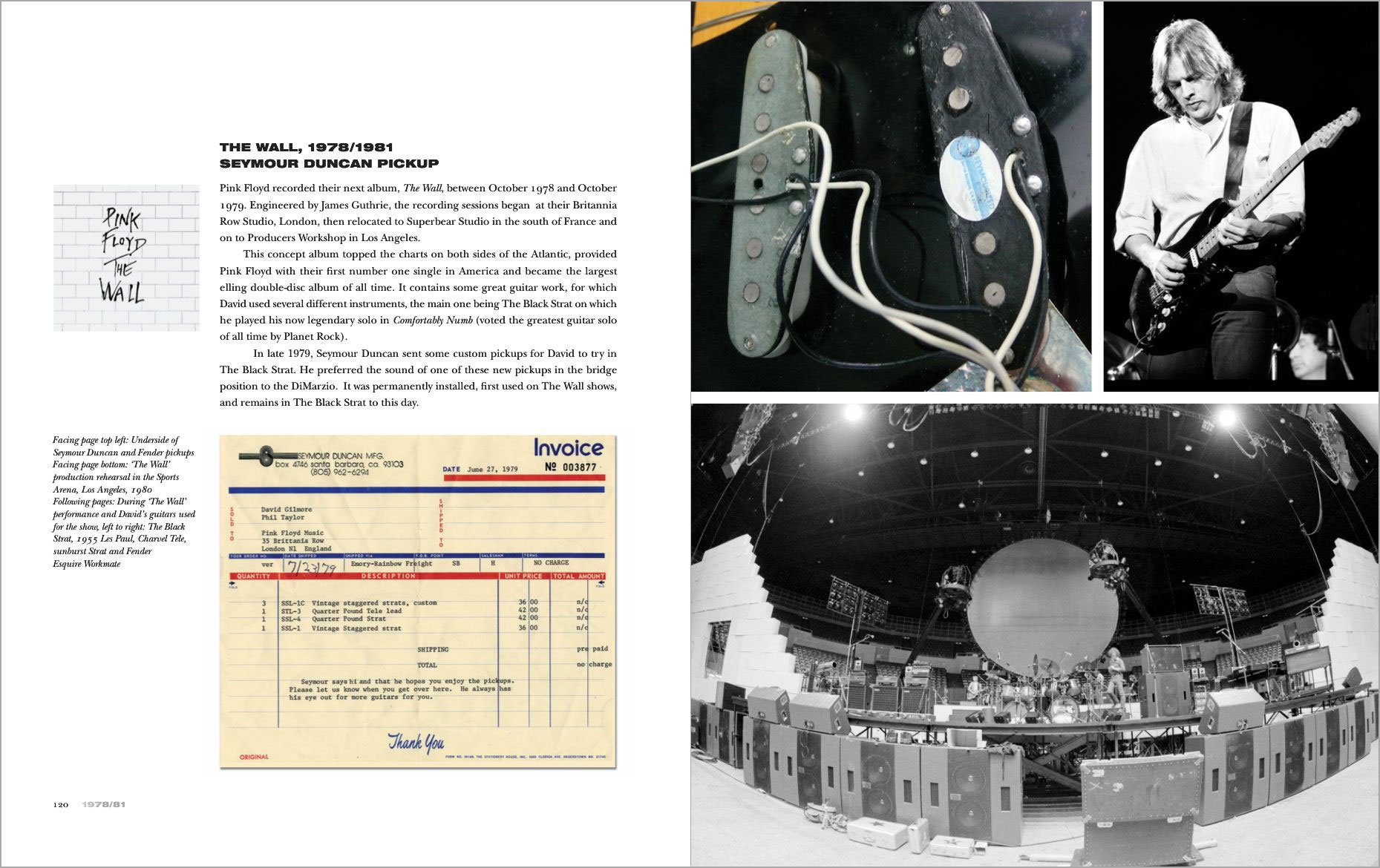 Pink Floyd The Black Strat A History Of David Gilmours Esquire Wiring Schematics Get Free Image About Diagram Fender Stratocaster Fourth Edition Phil Taylor Books
