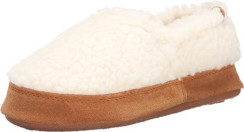 Amazon.com: Zapatillas de moc para niños de Acorn: Shoes