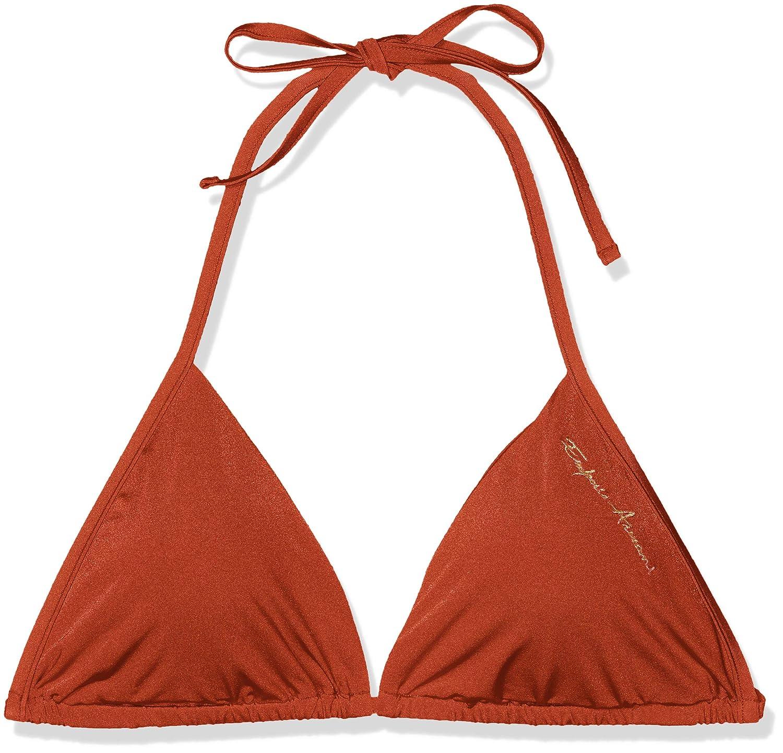 Emporio Armani Damen Bikinioberteil Ladies Knit Swimwear