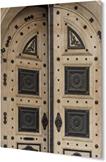 KAVKA Designs Gothic Door Plywood Art (Blue/White/Grey) - ESCAPE : flash door - pezcame.com