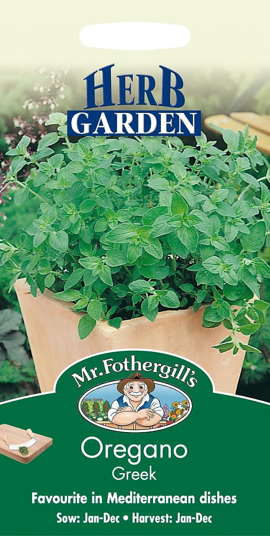 Mr. Fothergill's 13478 Greek Oregano Herb Seeds Mr Fothergill?s Seeds Ltd