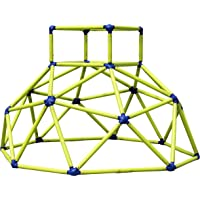 Eezy Peezy Monkey Bars Climbing Tower - Active Outdoor Fun for Kids Ages 3 to 8 Years Old, Green/Blue