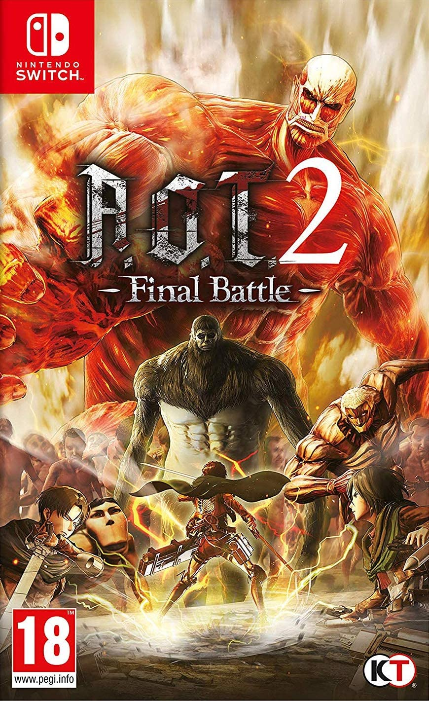 A.O.T. 2: Final Battle - Nintendo Switch: Amazon.es: Videojuegos