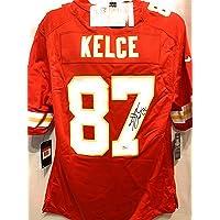 $199 » Travis Kelce Kansas City Chiefs Signed Autograph Red Nike Replica Game Jersey JSA Certified