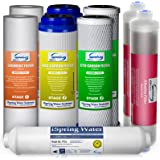 iSpring F9K 1-Year Filter Replacement Supply Set For 6-Stage Reverse Osmosis Water Filtration Systems
