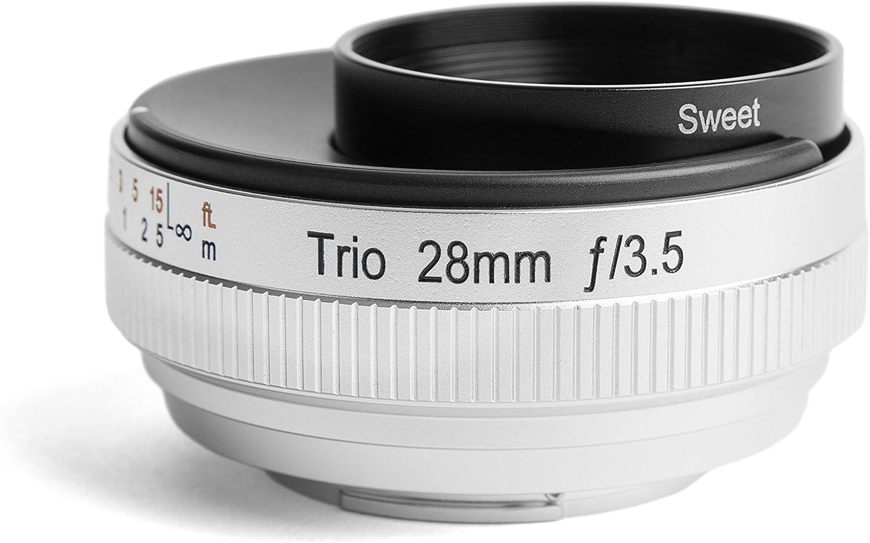 Lensbaby Lb 8f Trio 28 Für Anschluss Fuji X Schwarz Kamera