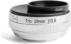 Lensbaby Trio 28 - Objetivo Tres Efectos para Sony E (28 mm, f/3.5 ...