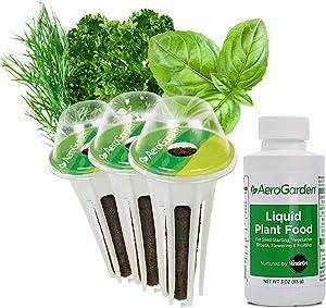 AeroGarden Gourmet Herb Seed Pod Kits, 3-Pod