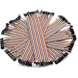 ZYAMY 240PCS Dupont Line Male to Male, Male to Female, Female to Female Dupont Cable Connector Multicolor Jumper Wire for Breadboard 30cm