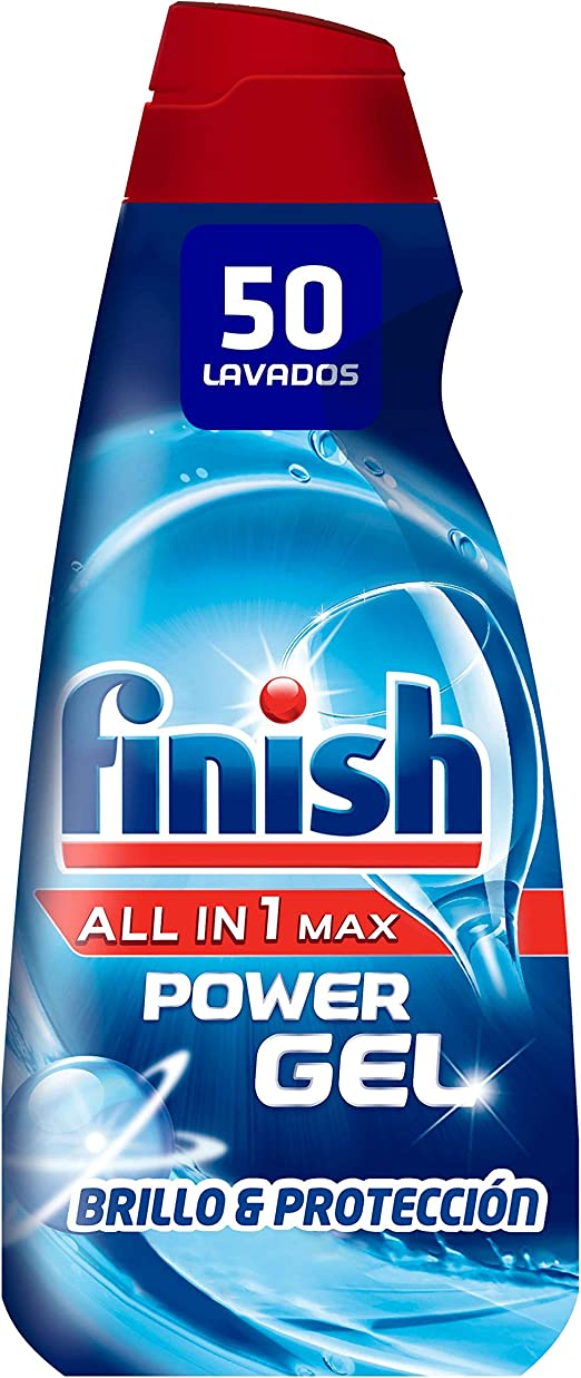 Finish Todo en 1 1 Plus Lavavajillas, Multicolor, 50 dosis: Amazon ...