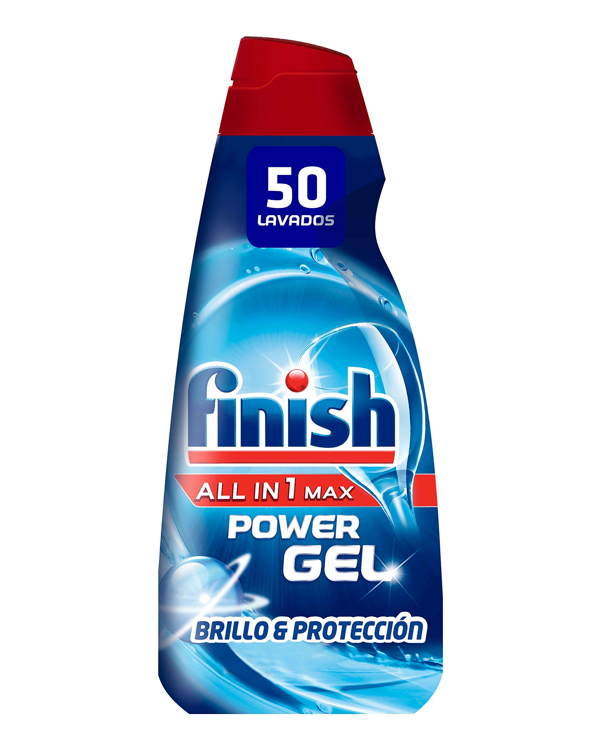 Finish Gel Lavavajillas Todo en 1 Max Regular - 50 dosis product image