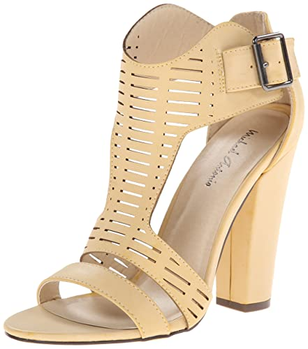 Michael Antonio Women's Knoll Dress Sandal, Natural, ...