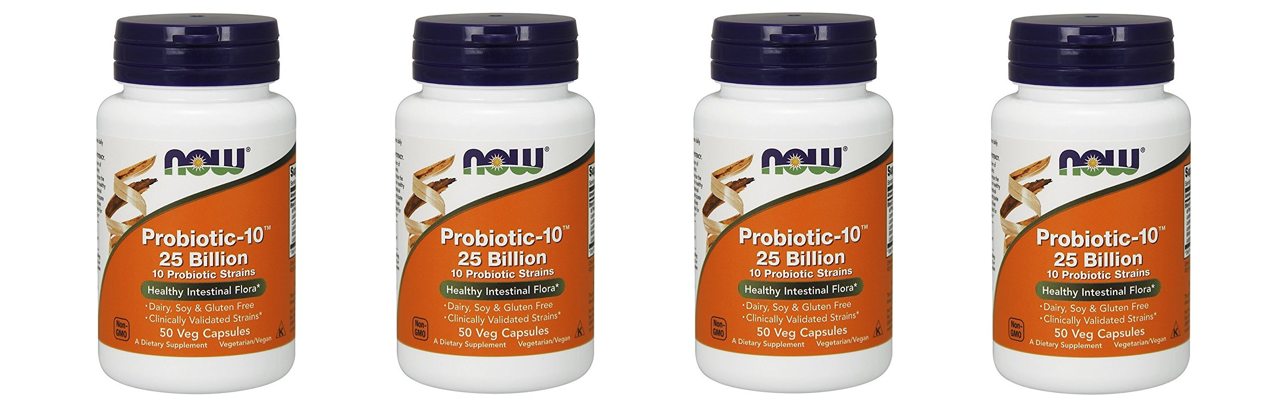 NOW Probiotic-10 25 Billion 200