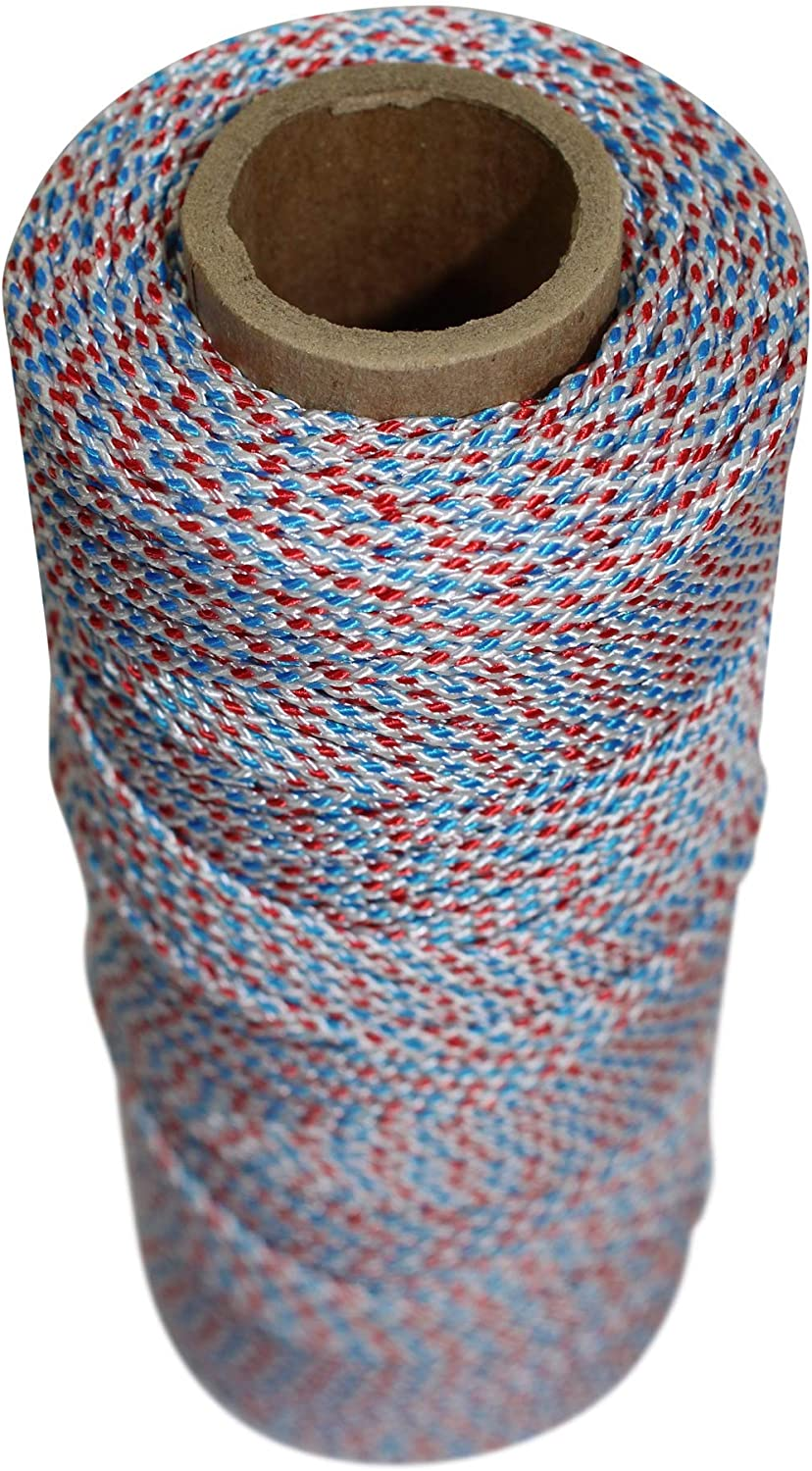 Dacron Polyester Twine for Bead Line /& General Purpose Rope 1lb x 900ft, NeonPink SGT KNOTS #18 Braided Mason Line
