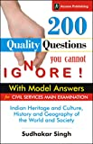 Indian Heritage, Culture, History and Geography of the World and Society for GS Paper 1 Main Examination