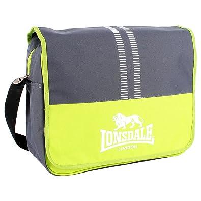 2fb117eb667 Lonsdale Unisex Adults Messenger Bag Multicolour Size  One Size ...
