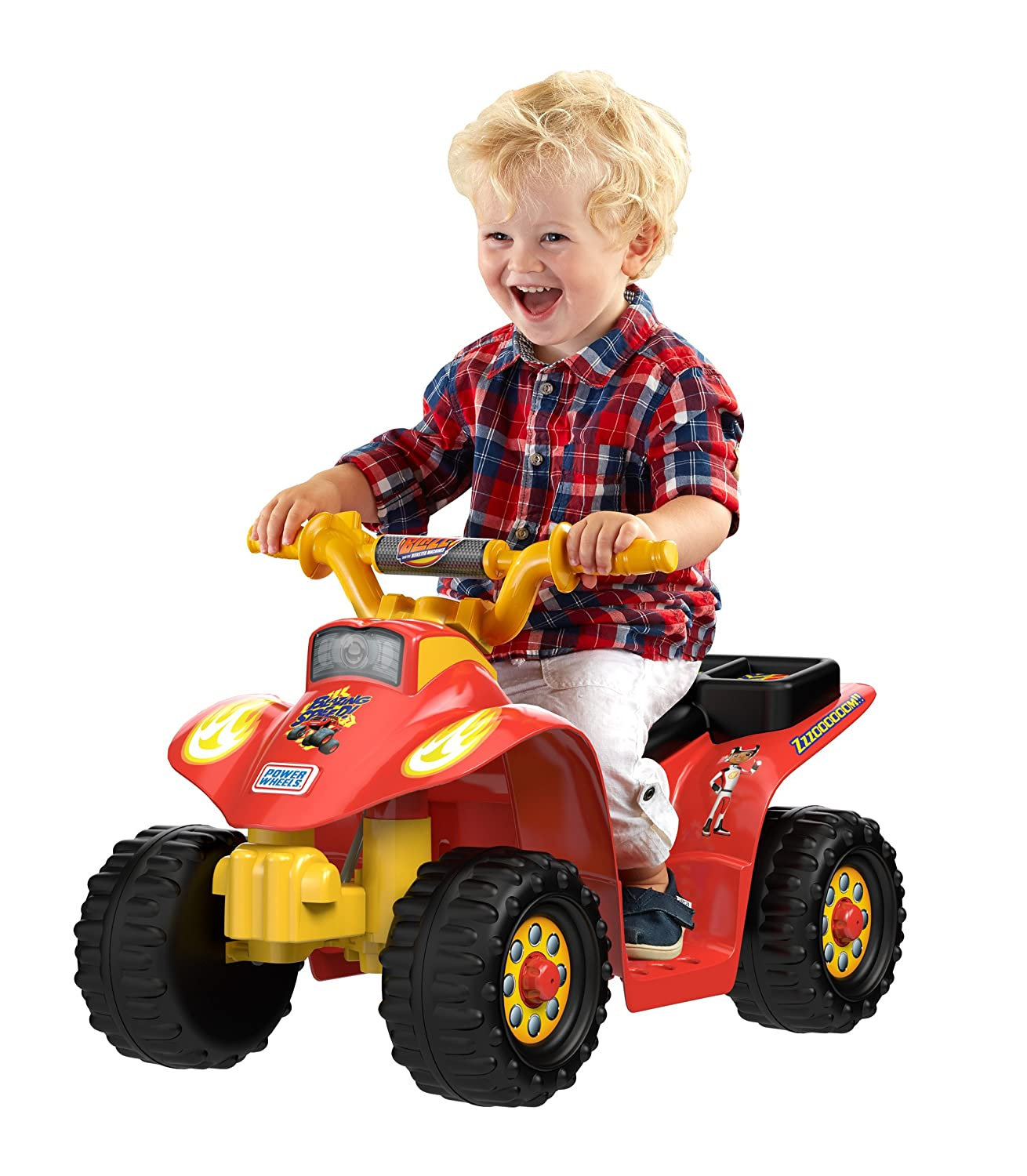 Blaze Power Wheels 6 Volt Ride Toys For Toddlers
