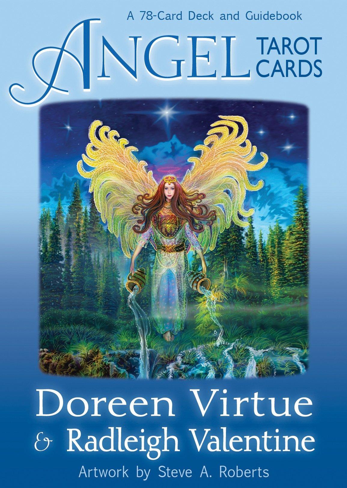 Angel Tarot Cards: Doreen Virtue, Radleigh Valentine, Steve A. Roberts:  8601420174962: Amazon.com: Books