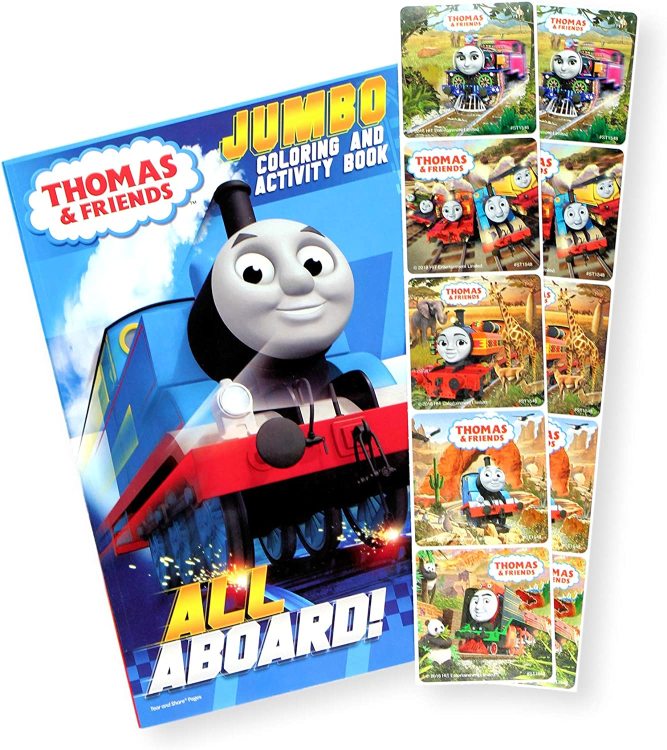 Amazon.com: Thomas The Train Coloring Book With Thomas And Friends