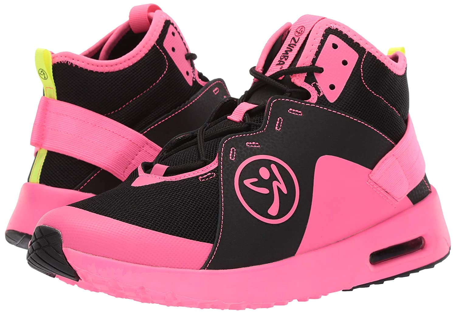 Zumba Womens Womens Air Classic Athletic Dance Workout with Max Impact Protection Sneaker Dance Shoe