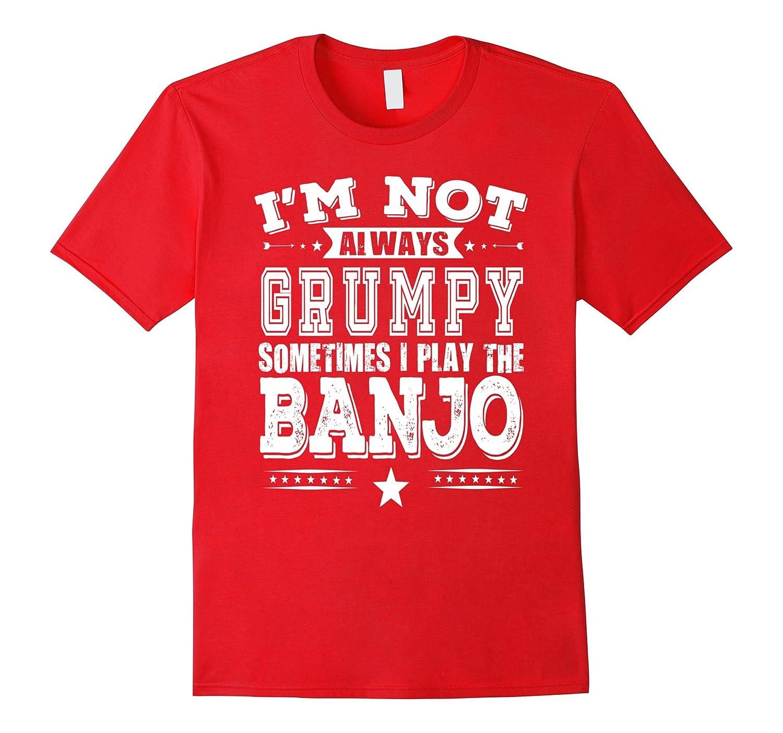 Banjo shirt Player Musician Heather-Veotee